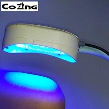 Красный светодиодный светильник помогает коже минимизировать мелкие морщинки и морщины