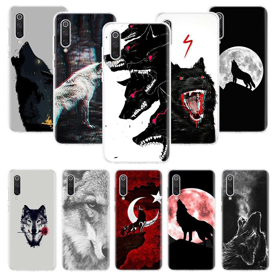 Wolf Case For Xiaomi Redmi Note 9S 8T 8 7 5 8A 8 7A 7 6A 10 K30 S2 Pro MI 10 8 9 Lite CC9 F1 Phone Coque Cover