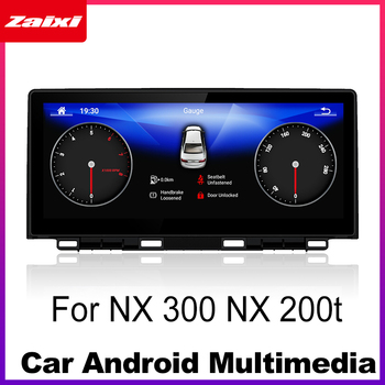 Android Car Multimedia player For Lexus NX 300 NX 200t 2017~2018 WiFi GPS Navi Map Stereo Bluetooth 1080p IPS Screen