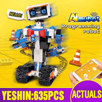 Educational App Control Robot Compatible With 17101 Boots Creative Toolbox Set Assembly Programming Building Blocks Bricks