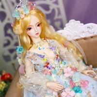 BJD Doll 60cm Gifts for Girl DIY Fairyland Ball Joint Dolls Best Handmade Beauty Dress Up Toy