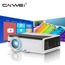 Caiwei A9/A9AB умный Android WiFi lcd светодиодный проектор 1080p домашний кинотеатр 5000 люмен Full HD видео мобильный проектор для смартфонов ТВ
