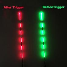 Smart Fishing Float Bite Alarm Fish Bait LED Light Color Change Automatic Night Electronic Buoy Strike Intelligent B315