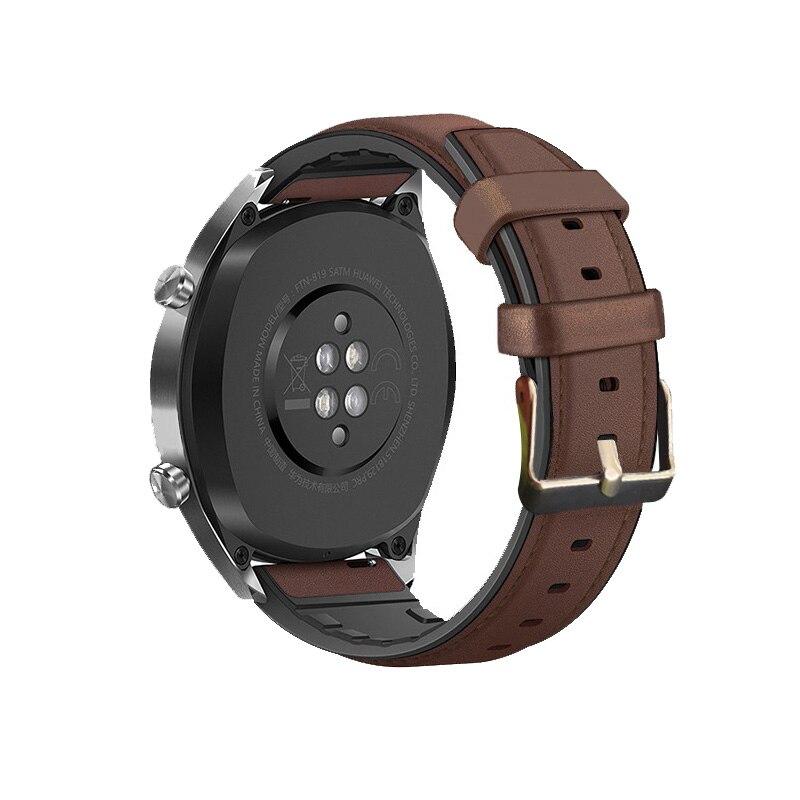 Купить 22 мм 20 ремешок для часов huawei gt 2 samsung galaxy watch