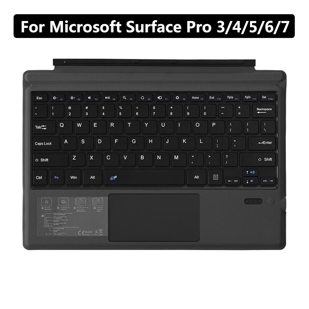 For Microsoft Surface Pro 3/4/5/6/7 Tablet Wireless Bluetooth 3.0 Tablet Keyboard PC Laptop Gaming Keyboard Malaysia