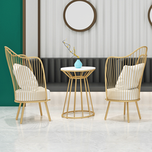 Customizable French Vintage Chair Commercial Furniture Creativity Nordic Hotel Coffee Chairs Pink Backrest Dining Chairs Butaca