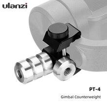 Ulanzi PT 4 60g Counterweight for Zhiyun Smooth 4 Feiyu Vimble 2 DJI Osmo Gimbal Stabilizer Smartphone Phone Stabilizer Balance