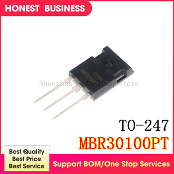 NEW 5PCS MBR30100PT MBR30100 TO-247 In Stock Best quality image