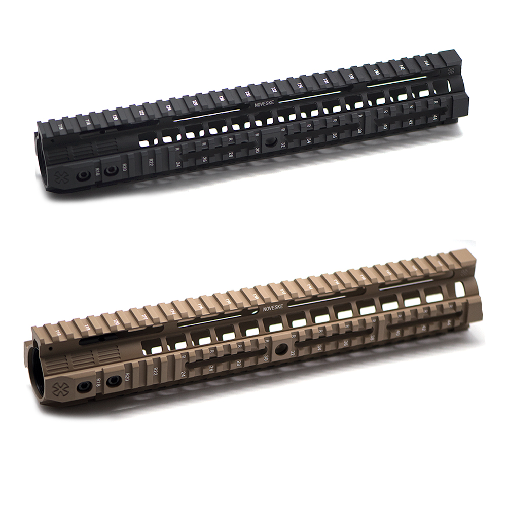 "CNC Aluminum Rail System 4""7""10""12"" Keymod M-LOK Handguard For Tactical AEG Airsoft Air Guns Gel Blaster Paintball Accessories"