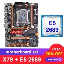 Kllisre X79 motherboard set mit Xeon E5 2689 LGA 2011 unterstützung DDR3 ECC REG speicher ATX USB 3,0 SATA3 PCI E NVME M.2 SSD