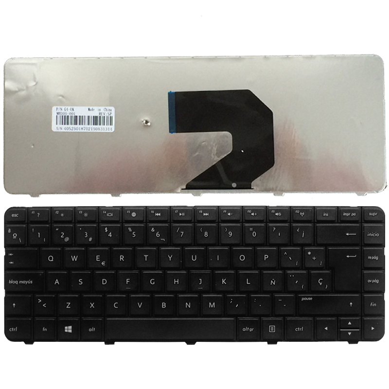 Новая клавиатура SP для ноутбука HP Pavilion G4 G43 G4-1000 G6 G6S G6T G6X G6-1000 CQ43 CQ43-100 CQ57 G57 430 630, черная, испанская