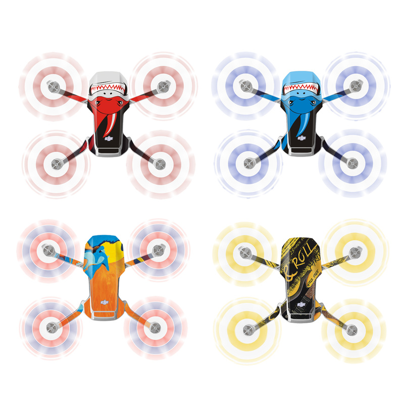 lowest price PVC Sticker for Mavic Mini DJI Drone Decals Controller Skin Stickers Set Mavic Mini Accessories