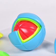 цена на Magic Cube Puzzle QiYi Wisdom Ball Cube 3D Educational DIY Assemble Ball Colorful Puzzle Educational Toy For Children Game