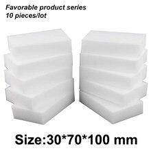 Borracha limpa mágica da melamina de 10*7*3cm, borracha da esponja da melamina do líquido de limpeza da almofada da esponja da melamina