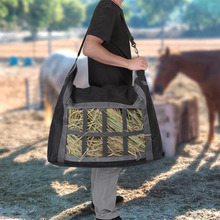 Oxford Cloth Hay Bag| Portable Horse Hay Tote Bag| Hand-held Horse Feeding Bag|Outdoor Equestrian Horse Riding Equipment