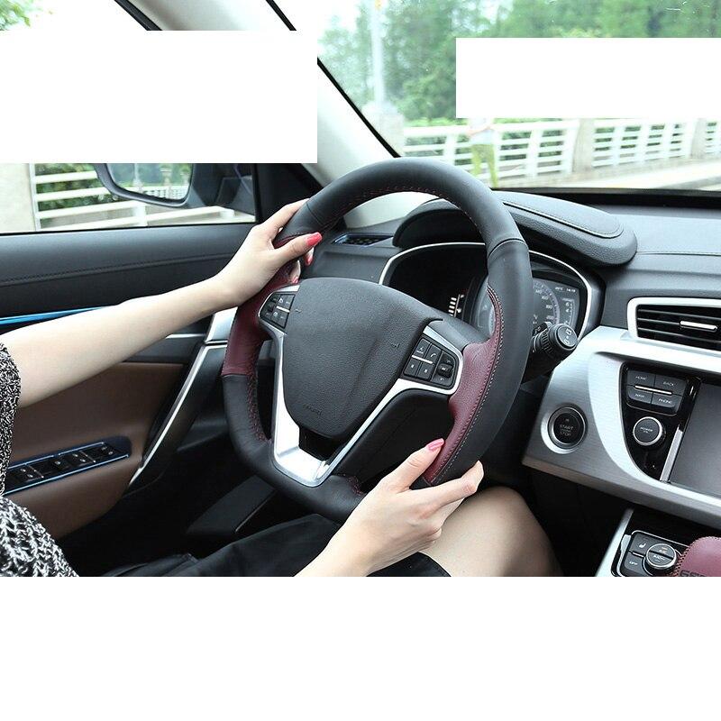 Lsrtw2017 capots de bordure de volant de voiture pour Boyue Atlas Emgrand Gs Gl 2016 2017 2018 2019 2020 accessoires de moulures intérieures