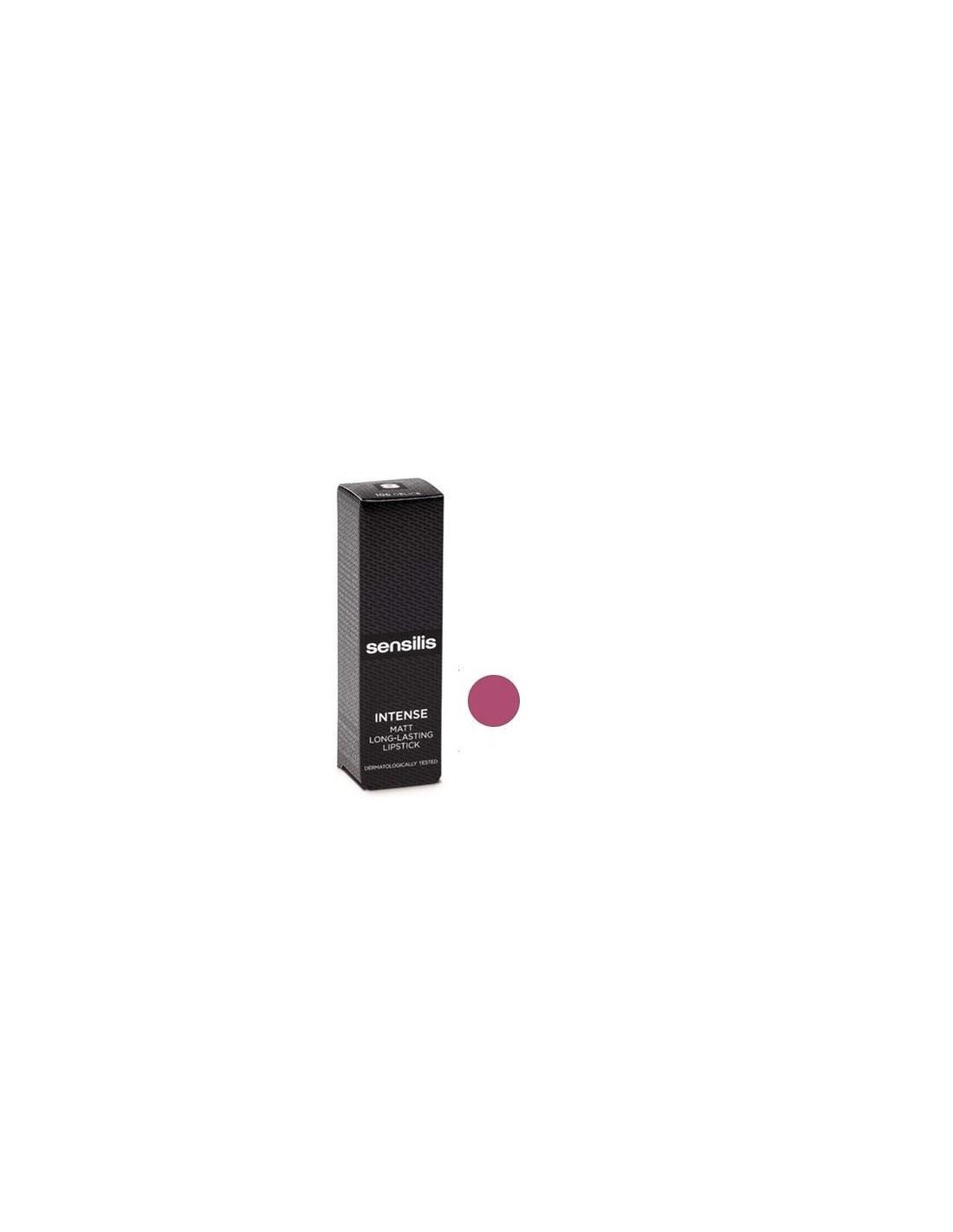 SENSILIS rouge à lèvres mat INTENSE 3.5 ML FRAMBOISE 102