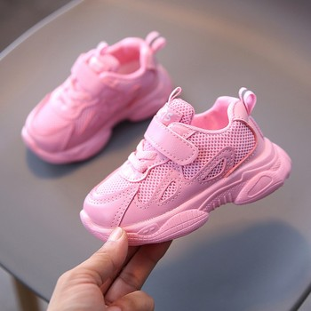 Children Shoes Boys Sneakers Girls Sport Shoes Child Leisure Trainers Casual Breathable Kids Running Shoes Basketball Shoes 2020 new children shoes boys sneakers girls sport shoes child casual breathable kids running sandalias baby boy girl shoes 23 32