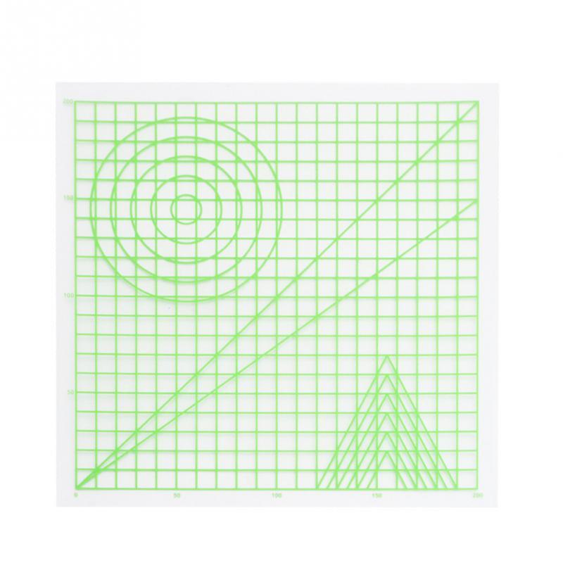 Инструмент для рисования, базовый шаблон, пригодный для 3d-печати, ручка, подарок, создание 3D предметов, силиконовый дизайнерский коврик, художественные принадлежности, мультиформы