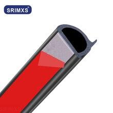 Tira do selo da porta do carro tipo dz tira da capa do selo do motor do carro tronco capa de borracha automóvel tira de vedação isolamento acústico