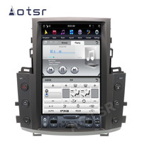 AOTSR Tesla Style Android 9 Car Radio For Lexus LX570 2007 2015 GPS Navigation PX6 Multimedia Player DSP Carplay IPS Autoradio