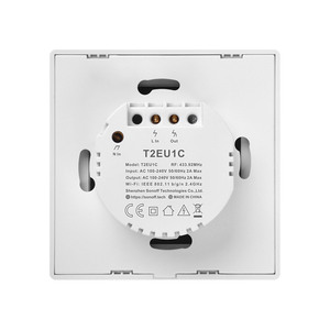 Image 2 - Sonoff TX T2/T3 EU/USสมาร์ทWiFi RF 433/ APP / Touch Control Wall Light Switch 1 /2 /3 Gang Type Wall Touch Switchสมาร์ท
