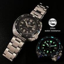 1970 Abalone Dive Watch 200M Waterproof Automatic Watch Men