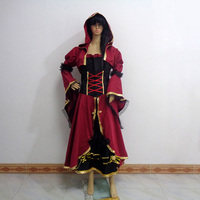 Castlevania Gabriel Belmont Sex Reversion Female Cos Christmas Party Halloween Uniform Outfit Cosplay Costume Customize Any Size
