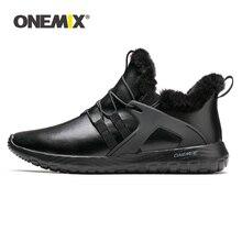 Sneakers Walking-Shoes Onemix Men Waterproof Winter Boots Adult Slip Ankle Outdoor Keep-Warm