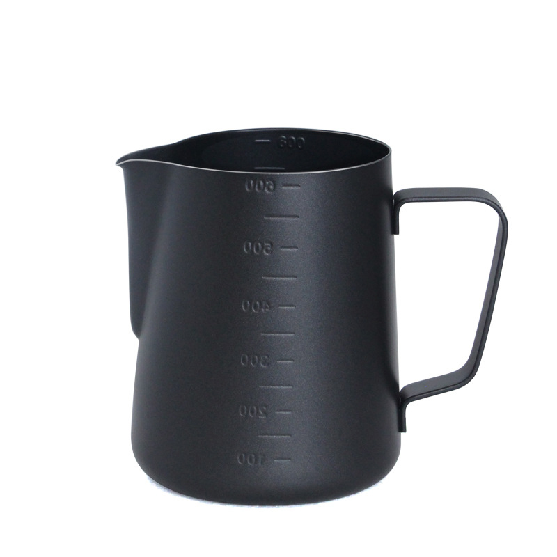 Teflon Stainless Steel Milk Frothing Jug Espresso Coffee Pitcher Barista Craft Coffee Latte Milk Frothing Jug Coffee Pitcher