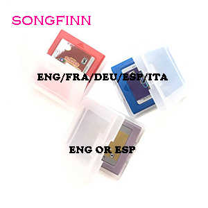 ENG/FRA/DEU/ESP/ITA Zeldaka serii dla 16 Bit Handheld gra wideo karta konsoli akcesoria