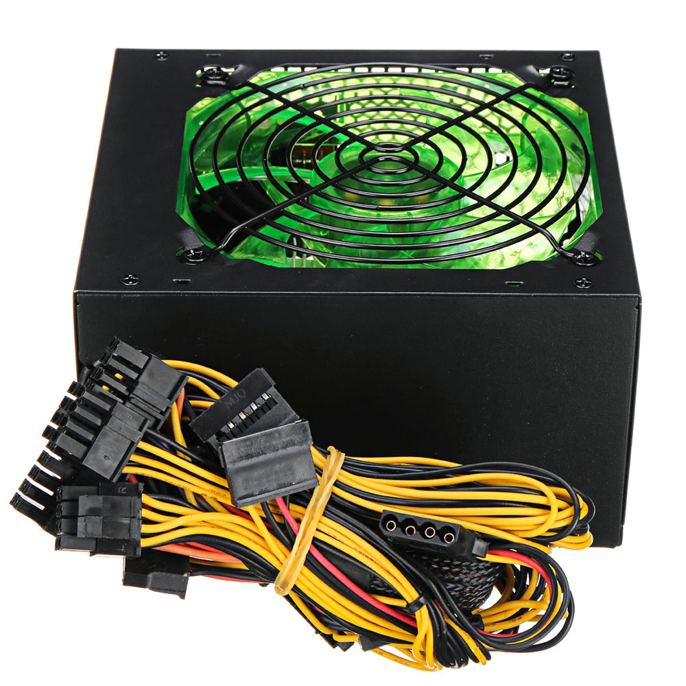 LED CPU Cooler Computer Case Silent Cooling Fan 800W 110~220V Cooler CPU Powerful Fan for Desktop PC вентилятор 120mm 5
