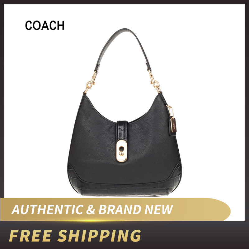 Authentic Original & Brand New  Coach F73095 Amber Hobo Shoulder Bag