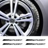 Pour Mercedes Benz W212 W205 W204 W203 W210 W211 W124 W214 AMG GLA GLC GLS GLE CLA A C E S classe Sport jantes en alliage autocollants de roue