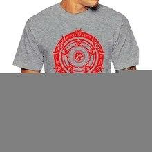 T-shirt Camisa Casa Símbolo Oculto Rias Gremory Da High School Dxd Escola Kawai Kawaii Tee Verão
