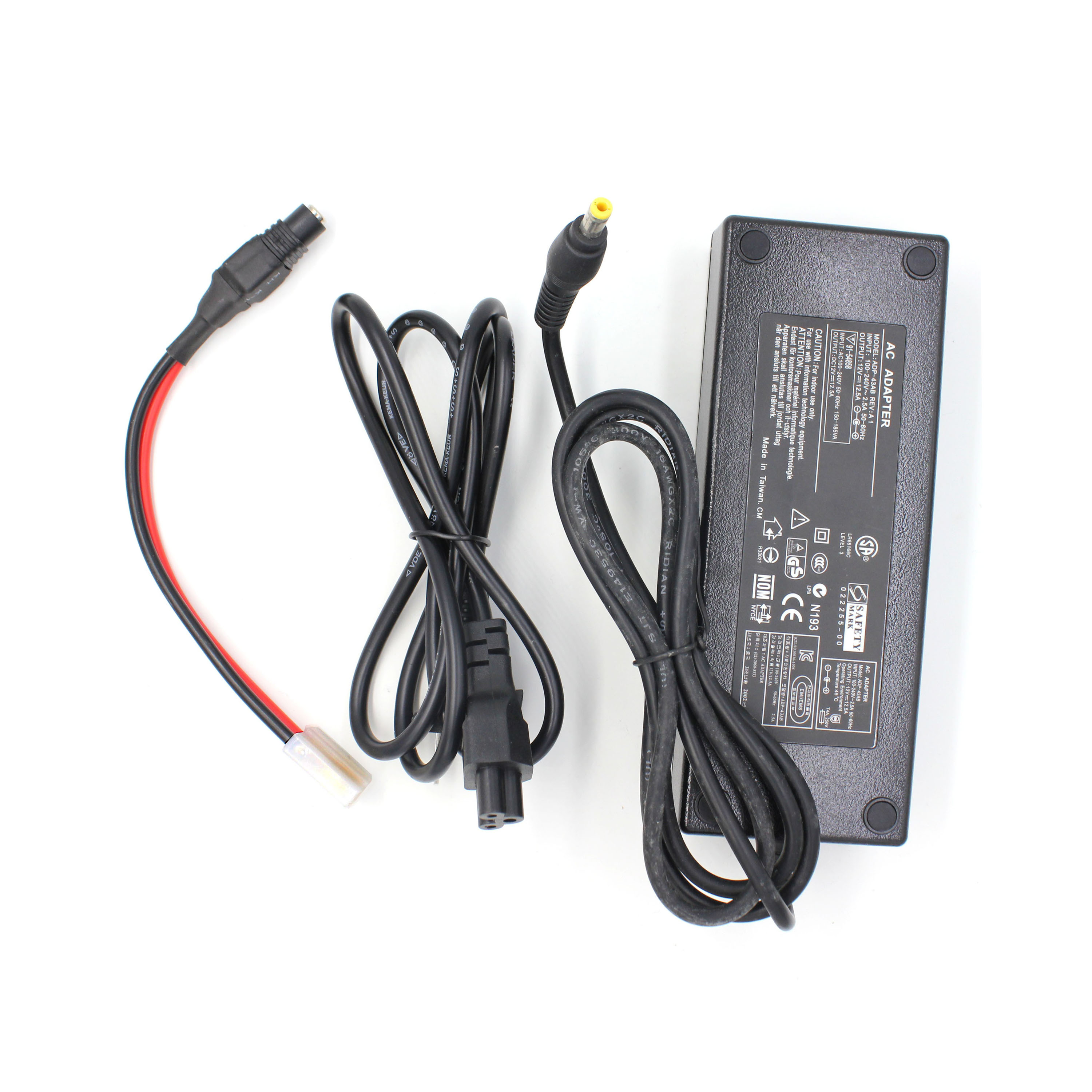 ANYSECU AC-125 12V 12.5A AC Adapter Power Supply  For Mobile Car Radio TH-9800 TH-9000D TH-7800 TH-8600 KT-780 Plus KT-980 Plus