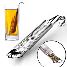 Spoon Infuser-Pipe Curved-Handle Tea-Strainer Design-Holder-Tool Kitchen-Accessories