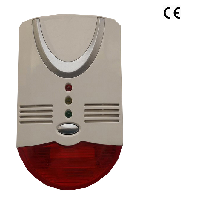 CE Approved GK CO&Natural Gas Or LPG,Double Gas Sensors, 3 Years Life Sensor, 85dB Detector,Different Gas With Accurate Sensor