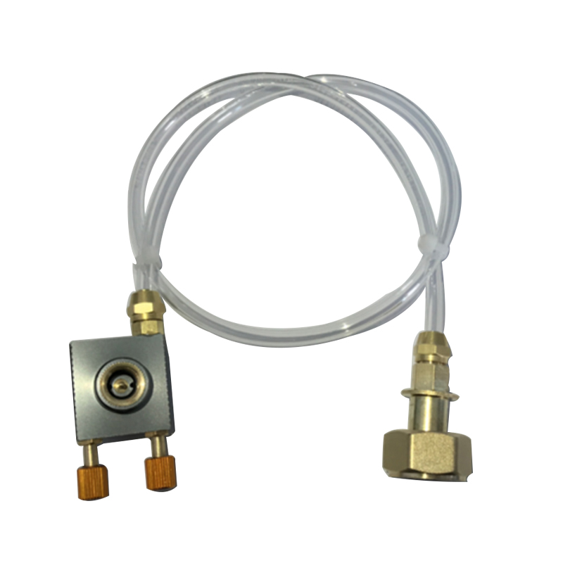 Outdoor Camping Gas Stove Propane Refill Adapter Gas Flat Cylinder Tank Coupler Adaptor Gas Charging With Pressure Relief Valve