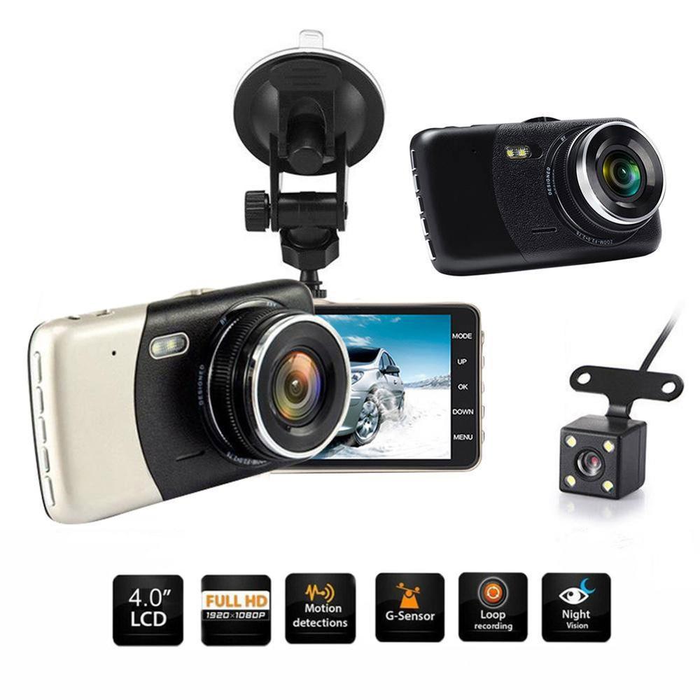 HD1080P MINI Wifi Cámara Oculto Coche Dash Cam DVR Video Grabadora G-Sensor 170°