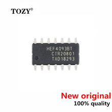 10pcs / lot new original Hef4093bt, 653 4-way 2-input NAND gate Schmidt trigger logic chip