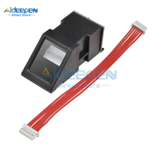 FPM10A считыватель отпечатков пальцев Модуль датчика оптический модуль отпечатков пальцев последовательный интерфейс связи модуль отпечатков пальцев для Arduino