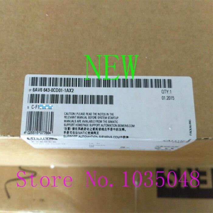 1PC 6AV6 643 0CD01 1AX2 新とオリジナルの優先利用 DHL 配信 - title=