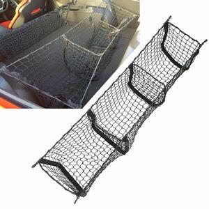 Image 4 - Auto Veranstalter Hinten Lkw Lagerung Tasche Gepäck Netze Haken Dumpster Net Für Ford F150 F650 Atlas Abendessen Duty Ranger Zubehör