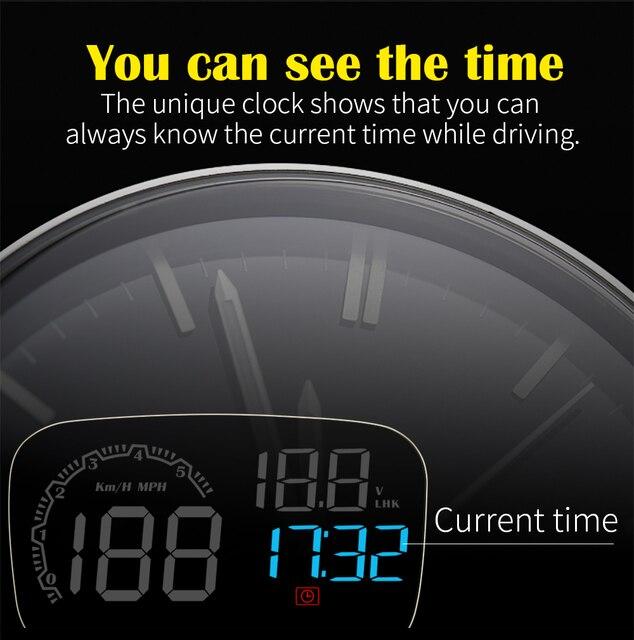 Фото автомобильный электронный проектор на лобовое стекло obd obd2 цена