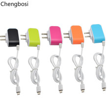 US Plug 3.1A 3 Port USB Charge Charger Travel AC Phone Mp3 Chargers Adapter + 1M Micro USB Charge Cable for iPhone Samsung