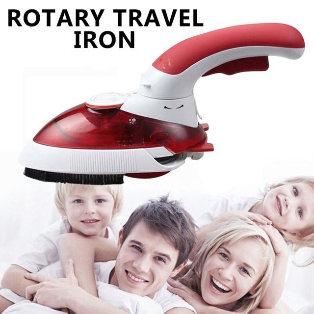Portable Three-Speed 700W Rotatable Travel Iron Dry Household Steam Portable High-Power Handheld Iron