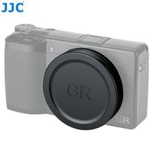 JJC Objektiv Kappe Abdeckung Für Ricoh GR III GR II GRIII GRII GR3 GR2 Digital Kameras Objektiv Protector Kamera Zubehör