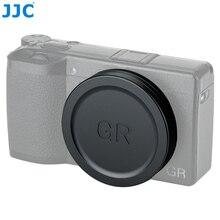 Jjc lente tampa para ricoh gr iii gr ii grii grii gr3 gr2 câmeras digitais lente protetor câmera acessórios