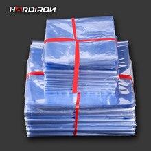 POF – sacs thermorétractables en PVC, sac plastique à Membrane transparente, sac à cosmétiques, pochettes rétractables en plastique, sacs plats à Film thermorétractable